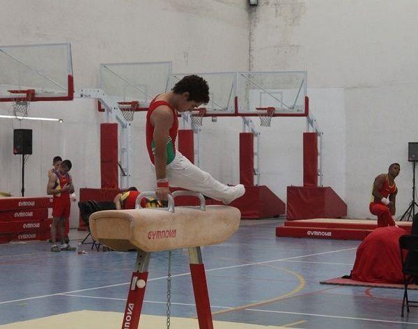 En las instalaciones del Ecocentro, Expositor de Querétaro, fue la sede de la última etapa de la Olimpiada Nacional, en la disciplina de gimnasia, el morelense Paulino Razo, se llevó cuatro metales, divididos en un oro, una plata y dos bronces, en la modalidad por aparatos