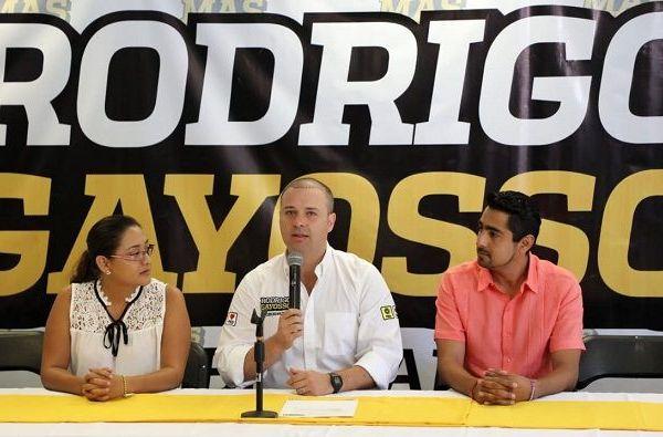 """""""Hoy decido unirme a este proyecto tras analizar que Rodrigo Gayosso es la mejor propuesta para sacar adelante a Morelos, ya que tiene las propuestas más serias, por eso hoy nos sumamos a su candidatura"""", declaró Suylene Mancera"""