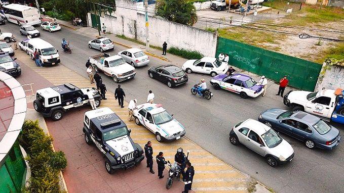 Los vehículos con documentación incompleta se detectaron en los puntos de revisión implementados por el área de Supervisión Operativa de la SMyT, en el marco de los operativos que se mantendrán en todo el territorio morelense
