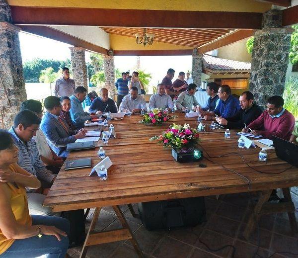 Pasos Herrera estuvo acompañado por el director de Desarrollo del Deporte, Isaac Terrazas, quienes dieron la bienvenida a los titulares y representantes del deporte en Tlaxcala, Guerrero, Ciudad de México y del Instituto Politécnico Nacional (IPN)