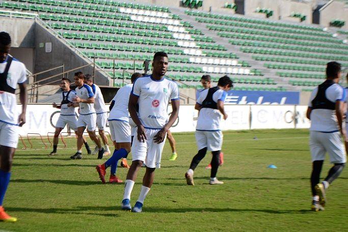 """César """"Chino"""" Huerta se dijo tranquilo por el par de anotaciones que logró ante Querétaro en la Copa MX, situación que lo motiva a trabajar el doble para mantener esa racha positiva y contribuir al buen funcionamiento del equipo"""