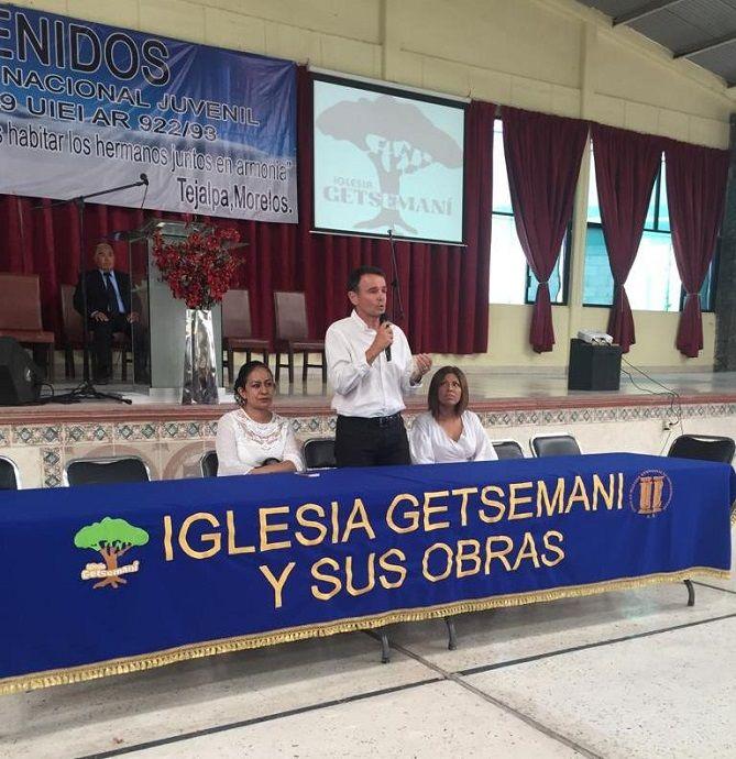 Luis Héctor Herrera López, director de Asuntos Religiosos de la Secretaría de Gobierno, hizo hincapié en el papel fundamental que tienen los jóvenes en la promoción de la paz y las acciones que pueden seguir para fomentarla de manera activa en su comunidad