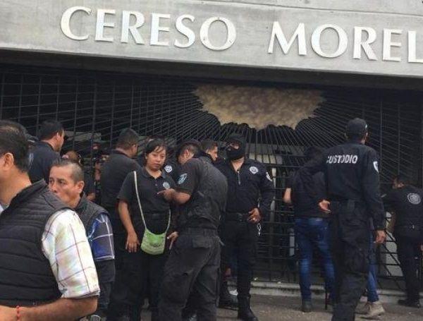 Fueron separados del cargo la directora general de Centros Penitenciarios, el director general de Reinserción Social y el director general Operativo del CERESO Morelos