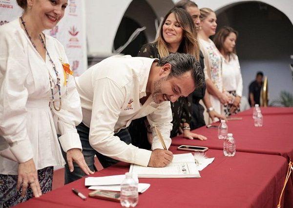 """En el Museo de la Ciudad de Cuernavaca (MuCIC), la presidenta del DIF Cuernavaca, Orquídea Álvarez González, reconoció que la Organización de las Naciones Unidas (ONU) tipifica la violencia y las amenazas en agravio de la mujer como los flagelos más graves de los derechos humanos """"socava el desarrollo de los países, generan inestabilidad en las sociedades e impide el progreso hacia la justicia y la paz"""""""