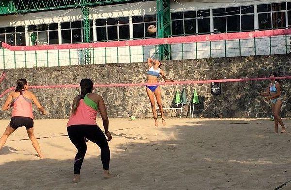 Así sucedió con la disciplina del voleibol de playa en la rama varonil, y femenil dentro de su participación de la llamada Liga Olímpica en la vecina Ciudad de México
