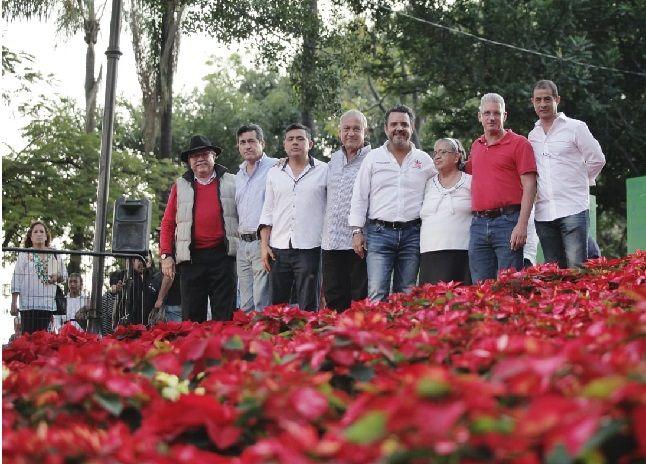 Lo vital es que el turismo local y foráneo adquieran flores de Nochebuena y ésta compra signifique una derrama económica para de la capital de Morelos