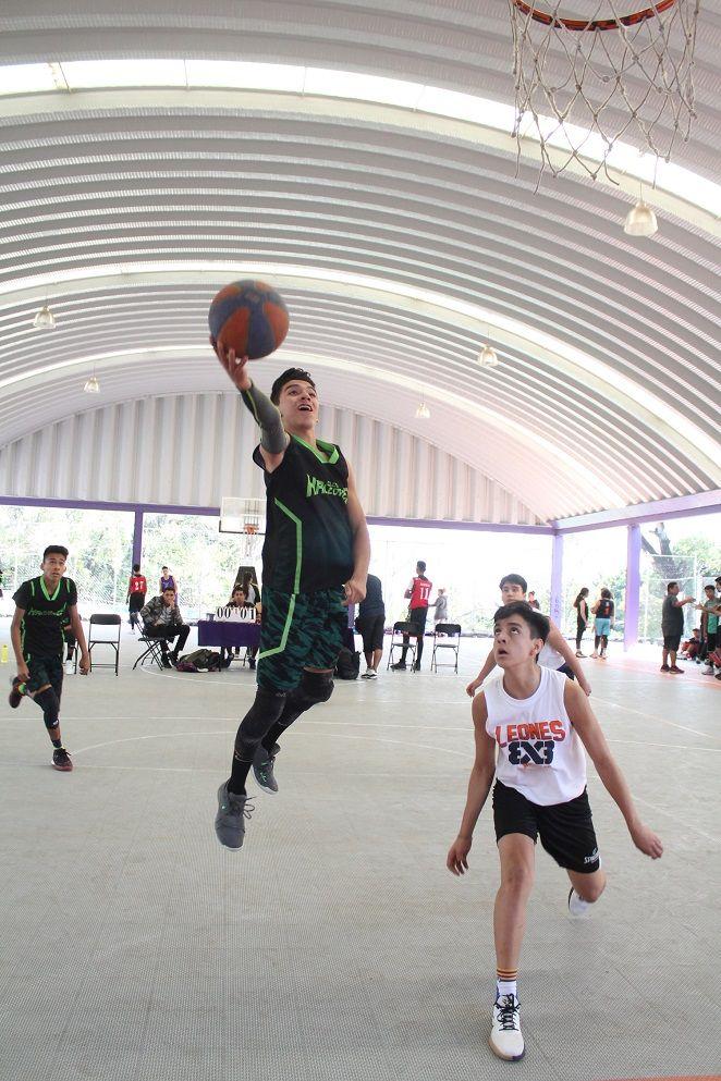 El basquetbol, en sus modalidades 5x5 y 3x3, vio acción en las instalaciones de la Unidad Deportiva Centenario; mientras que el voleibol se jugó en la Unidad Deportiva Revolución; y el Balón Mano o Handball se disputó en el municipio de Jojutla y las instalaciones de la Universidad Autónoma del Estado de Morelos