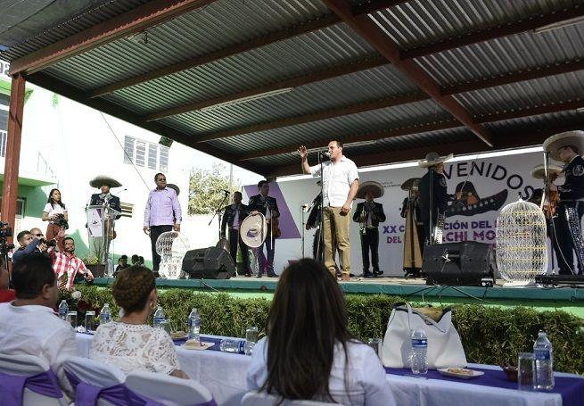 A la sesión acudieron los secretarios de Turismo y Cultura, Margarita González Saravia; Desarrollo Social, Gilberto Alcalá Pineda; Educación; Luis Arturo Cornejo Alatorre y Salud, Marco Antonio Cantú Cuevas