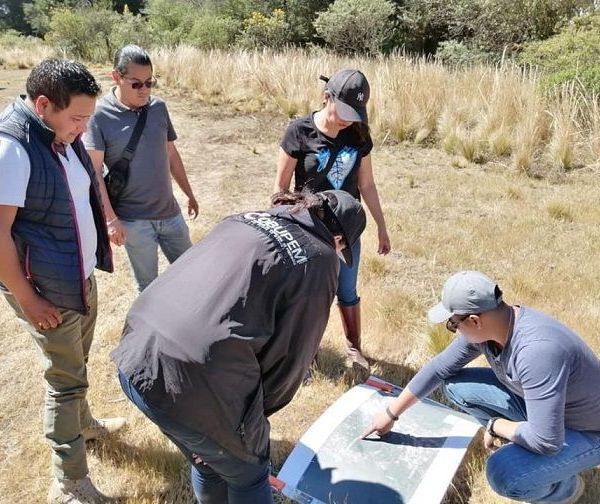 Se contó con el apoyo de la Comisión Estatal de Seguridad Pública de Morelos, a través de elementos de seguridad perimetral y binomio canino, elementos de Protección Civil municipal e integrantes del Comisariado Comunal de Huitzilac
