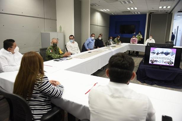 """Cuauhtémoc Blanco señaló que con este tipo de acciones """"se busca estrechar los lazos de colaboración interinstitucional e interestatal para desarrollar actividades que permitan lograr el bienestar de las familias en cada región de la entidad"""""""