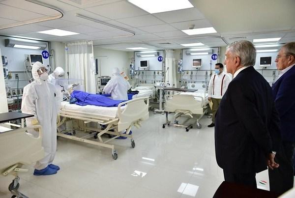 El hospital tiene 70 camas: 40 de hospitalización general y 30 de terapia intensiva con ventiladores; tres quirófanos y área de rayos X, informó el director General del ISSSTE, Luis Antonio Ramírez Pineda