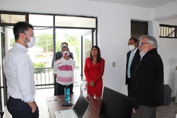 Durante el encuentro, se expusieron los retos y perspectivas que el fenómeno de las desapariciones forzadas y cometidas por particulares representan para la Comisión Local de Búsqueda como parte del Sistema Nacional de Búsqueda