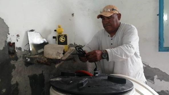 Indicó que el equipamiento de los pozos es resultado de una gestión hecha por el alcalde Rafael Reyes Reyes la Comisión Estatal del Agua (CEAGUA) y con ello se dotará del vital líquido en apego a las nuevas disposiciones sanitarias