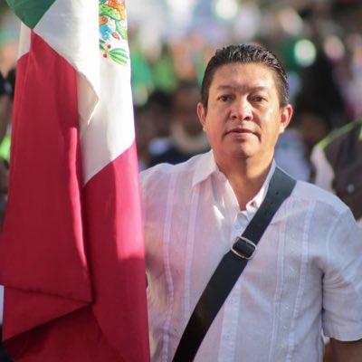Abel Espín García, Alfredo Domínguez Mandujano y Rogelio Torres Ortega, respectivamente presidentes municipales de Miacatlán, Tlaltizapán y Tepoztlán, hoy bajo el manto protector del Partido Encuentro Social (PES)