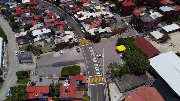Durante el acto inaugural el presidente Rafael Reyes Reyes destacó el trabajo conjunto que realizaron las diferentes autoridades del municipio para atender y dar solución a una problemática de varios años que generaba malestar social