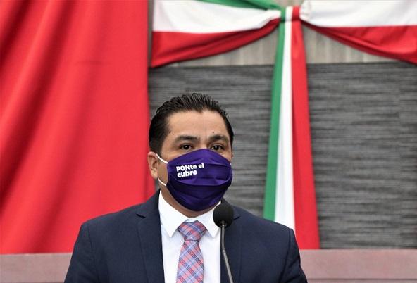 Congreso: Obligatorio el uso de cubrebocas en Morelos