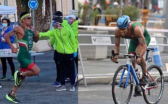 El desempeño quetuvo el morelense durante la competencia terminó el trayecto de 750 metros de natación en 8:53, los 20 kilómetros de ciclismo en 27:44 y la carrera 14:40 para un total, incluyendo los tiempos de transición, en 52:35