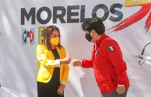 Acompañado por la presidenta estatal del PRD Cristina Balderas, Jonathan Márquez destacó que en Morelos nuevamente se dan las condiciones y la necesidad para generar una coalición que encabece una alternativa ante el poder