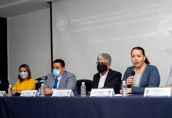 El Fiscal General del Estado Uriel Carmona Gándara; y el Consejero Presidente Provisional del Impepac, Pedro Gregorio Alvarado Ramos, signaron este jueves dicho acuerdo