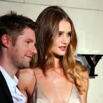 Christopher Bailey and Rosie Huntington-Whiteley c...