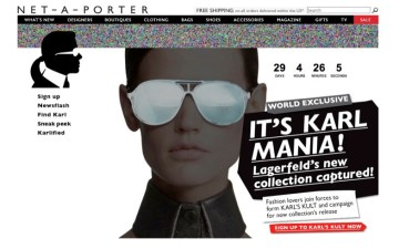 Karl Lagerfeld for NET-A-PORTER.COM