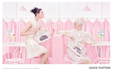 Louis Vuitton Spring Summer 2012 Ad Campaign