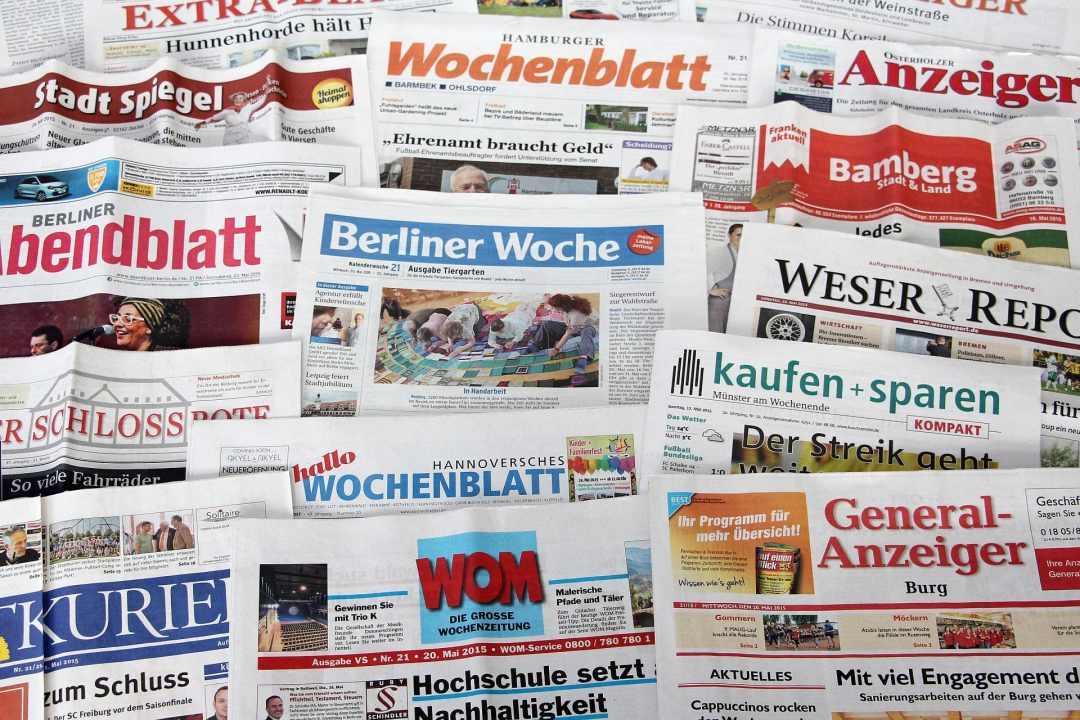 Wochenblätter in Deutschland