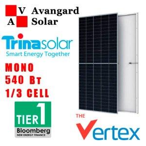 Солнечная батарея Trina Solar TSM-DE19 Vertex 535-555 Вт