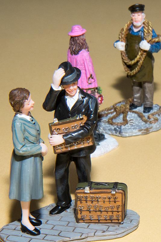 Objets flottants / figurines