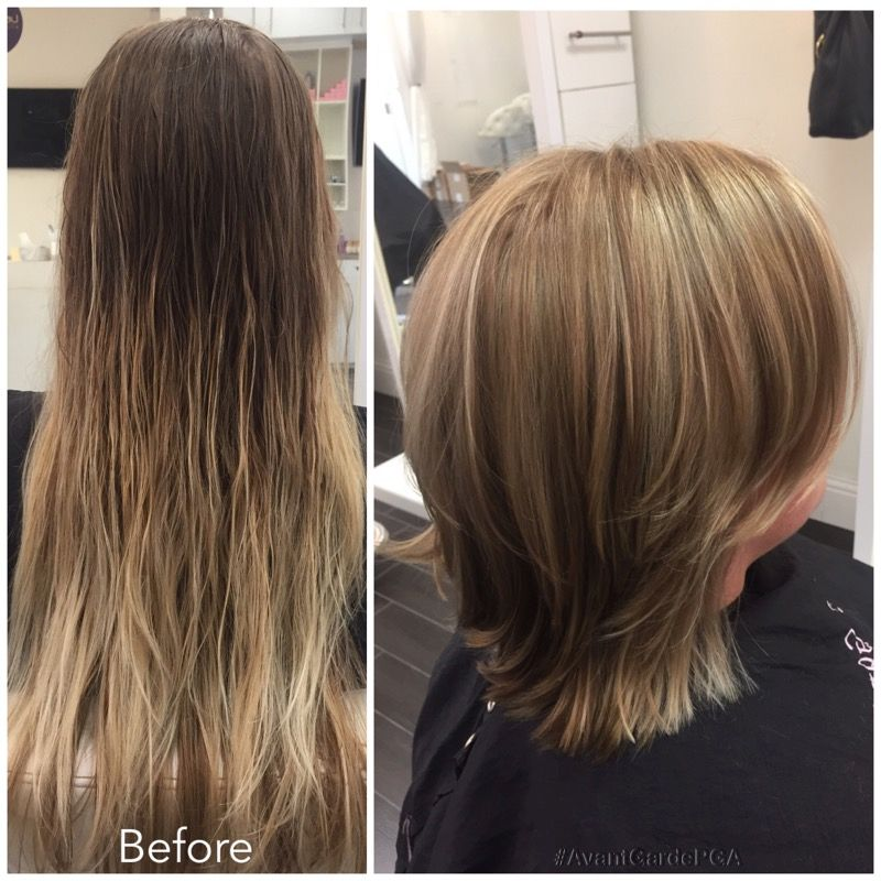 Before And After Hair Styles Palm Beach Gardens Hair
