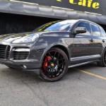 Porsche Cayenne S Matte Black Ruger Mesh 1