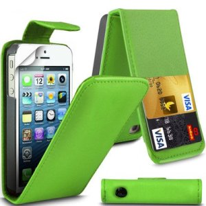 Apple iPhone 6/6s by Parrot Green Flip Premium PU Leather Case Cover For Apple iPhone 6/6s by G4GADGET®