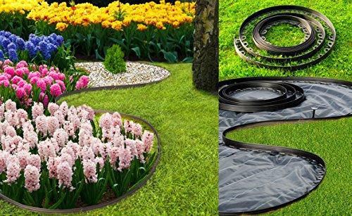 bordure de jardin en plastique flexible pour les bordures. Black Bedroom Furniture Sets. Home Design Ideas