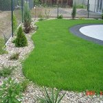 Bordure de jardin en plastique flexible pour les bordures, chemins, allées, pelouse… 10m Facile à installer. Avec 30piquets d'ancrage inclus.