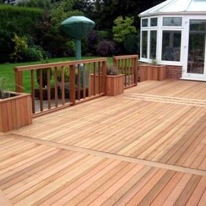 Terrasses en bois et clôtures