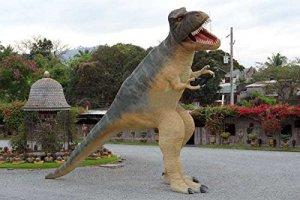 T-Rex saurier très grand lebensgroß 1020cm pour extérieur en fibre de verre haute qualité plastique (GFK)