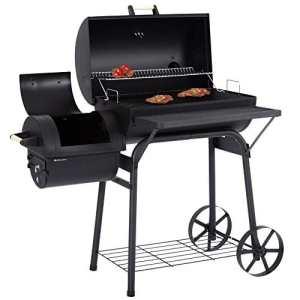 Ultranatura Barbecue fumoir Denver à 2chambres de cuisson, 119x66x135cm