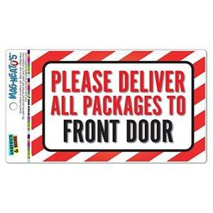 Veuillez fournir tous les paquets vers l'avant de porte en aluminium plaque métal Signes Boîte signalisation vintage plaques Signs decorative plaque