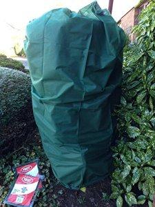 2Plante chauffant protection hivernale pour jardin Coque Med 105x 80cm 35g/m²