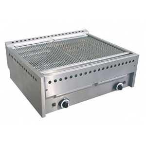 D.O.M.–Grill Pierre de lave 70x 57à gaz