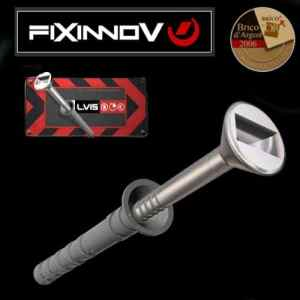 G4 * TRIPLEX ® 40 vis 8 X 60 mm – Poser en 2 sec. les chevilles à frapper sans marteau ni tournevis mais uniquement avec le foret d'une perceuse.