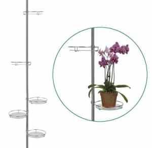 MQ-Power Étagère à plantes télescopique 5 niveaux