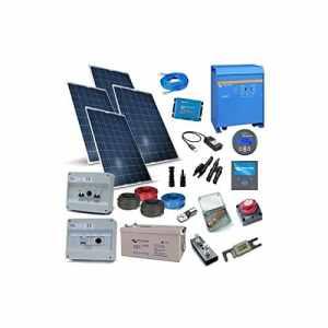 Victron Energy – Kit Solaire Maison Plus 6Kw 48V Victron Energy Photovoltaïque Accumulation – KCSVPL-6000-48