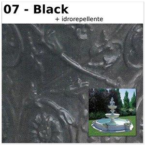 Fontaine de jardin Berlin cM400x 400x 275H dans les différents couleurs CM400X400X275H noir