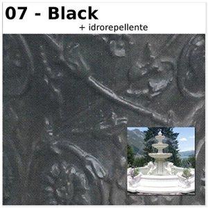 Fontaine de jardin Marseille cM400x 400x 255H dans les différents couleurs CM400X400X255H noir