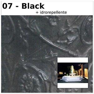 Fontaine de jardin méditerranéen cm482x 482x 285H dans les différents couleurs CM482X482X285H noir
