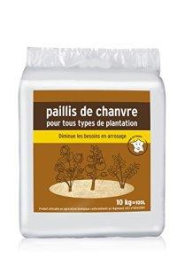 NO NAME Paillis de chanvre 10 kg, Marron, 43.5 x 40 x 40 cm