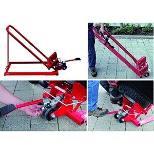 Arnold 6031-X1–0013Pelle pour tracteurs à gazon et tondeuse autoportée–Hydraulique, rouge