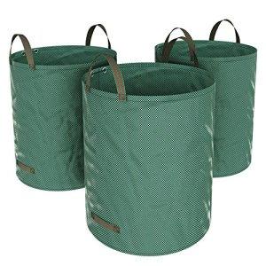 Songmics 3x sac à déchets de jardin 272L GTS272L