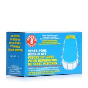 4 oz sous-Kit de réparation et colle pour tissu, vinyle Pool Kit de réparation